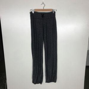 lululemon athletica Pants - Lululemon Heathered Black Relaxed Fit Pants